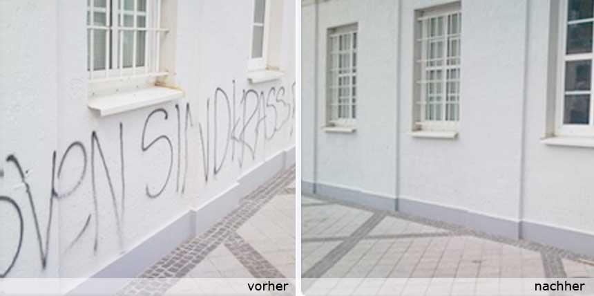 Graffity-Entfernung